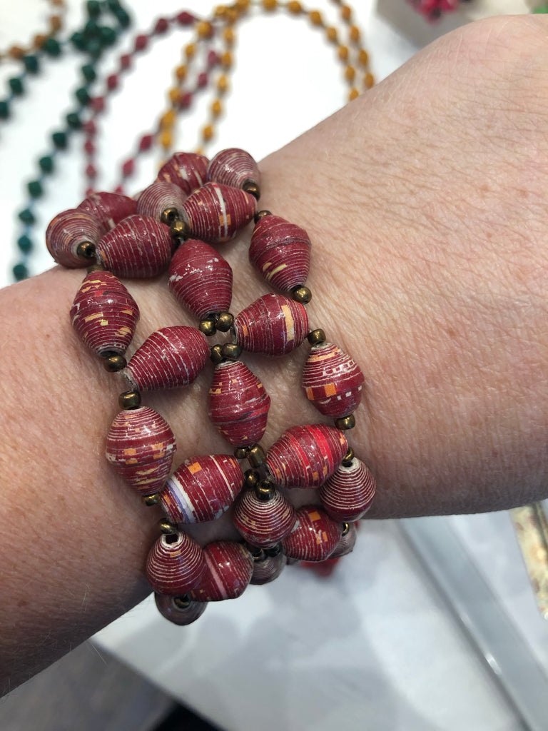 Starburst Bracelet - Brown