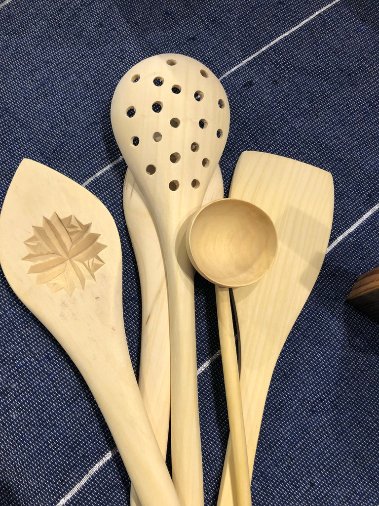Lemonwood Sieve Spoon