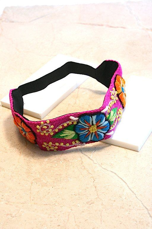 Jewellery & Fashion Accessories - Bodacious Pink Flower Headband