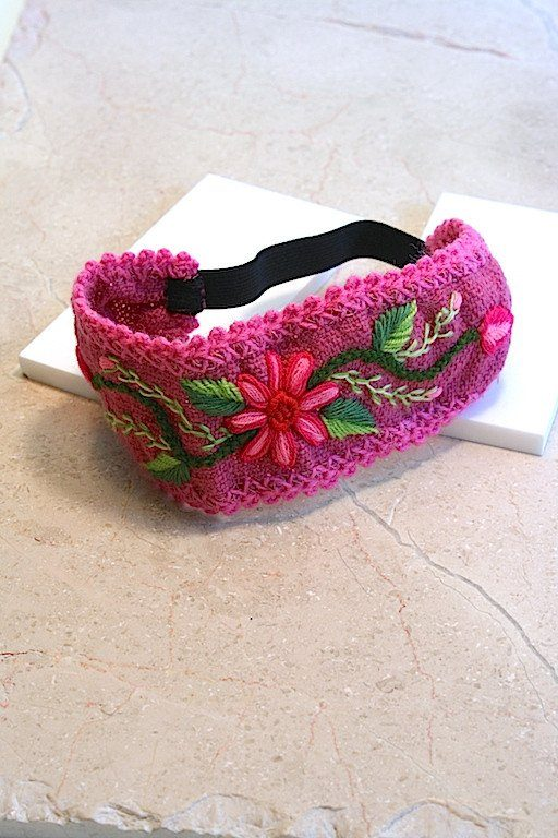 Bodacious Pink Lolly Headband