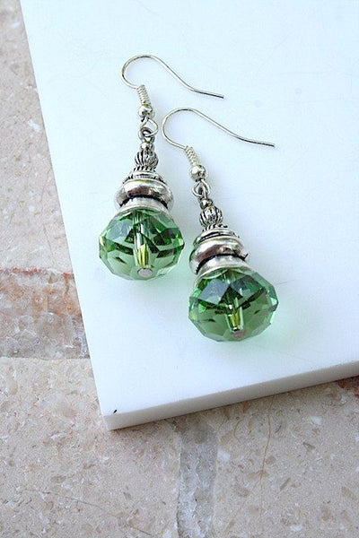 Jewellery & Fashion Accessories - Sparkle In Green Earrings
