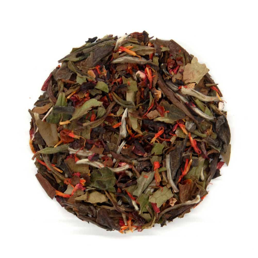 Organic Loose Leaf Tea - Strawberry White
