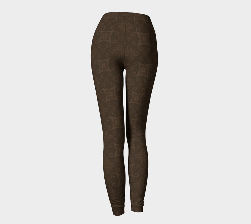 Not Basic Brown Leggings