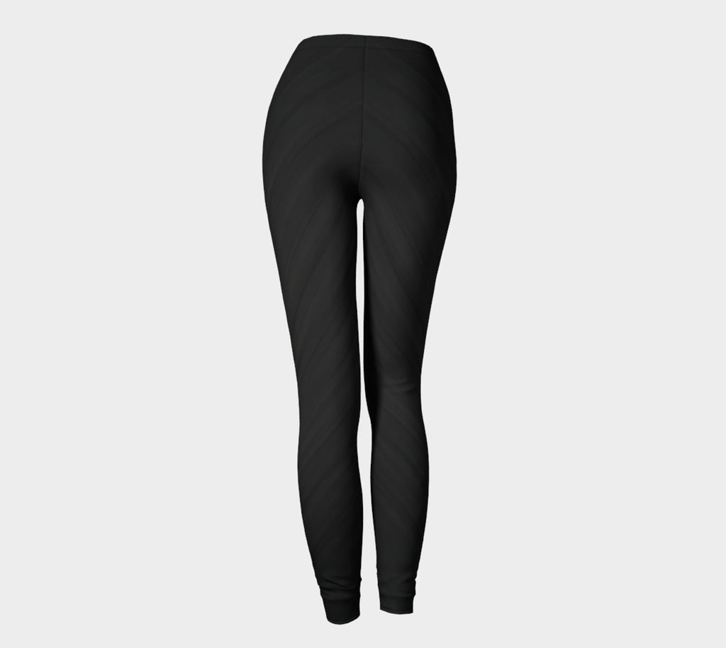 Classic Brushed Black Leggings