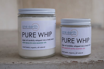 Whipped Argan Oil Body Butter (Pure Whip)
