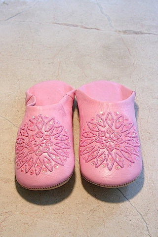 Shoes, Slippers & Boots - Light Pink Babouche Slippers (Adult)