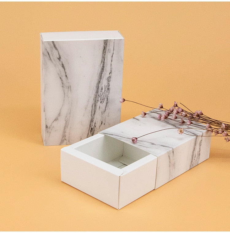 10pcs / Marble Small Box Packaging