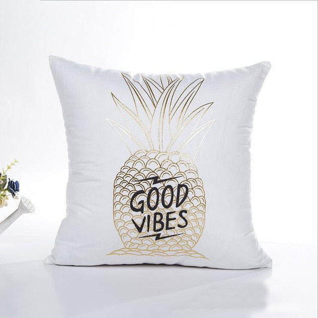 Eco-Friendly Gold Festive Cushion Covers