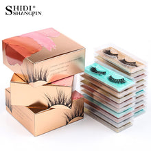 Load image into Gallery viewer, Mink Lashes Wholesale & Eyelashes Packaging Box Bulk