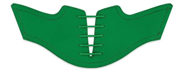 Men's Green Saddles Flat Saddle View From Jack Grace USA