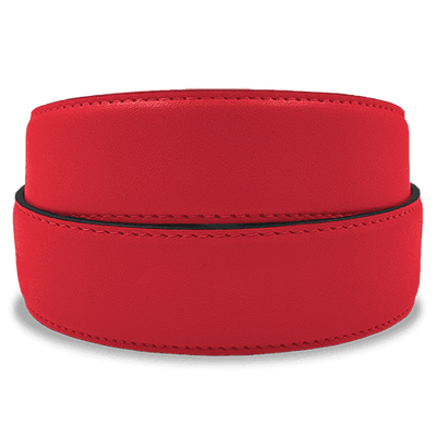 Red Golf Belt Strap from Jack Grace USA