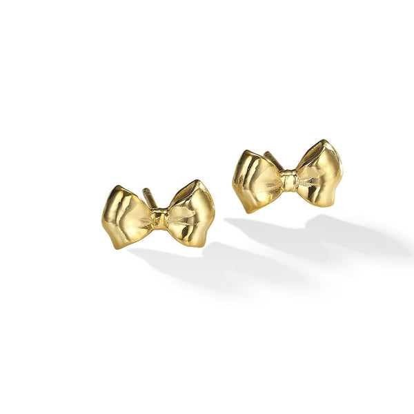 Go With The Bow Stud Earrings
