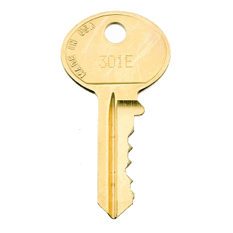 HON 301E Office Furniture Replacement Key