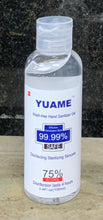 Load image into Gallery viewer, Yuame 75% Alcohol Instant Hand Sanitizer (100 ML) (3.52 FL OZ)