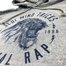 Load image into Gallery viewer, JMT - Lion Rap - Navy Blue  / Gunmetal Heather Grey - Hoodie