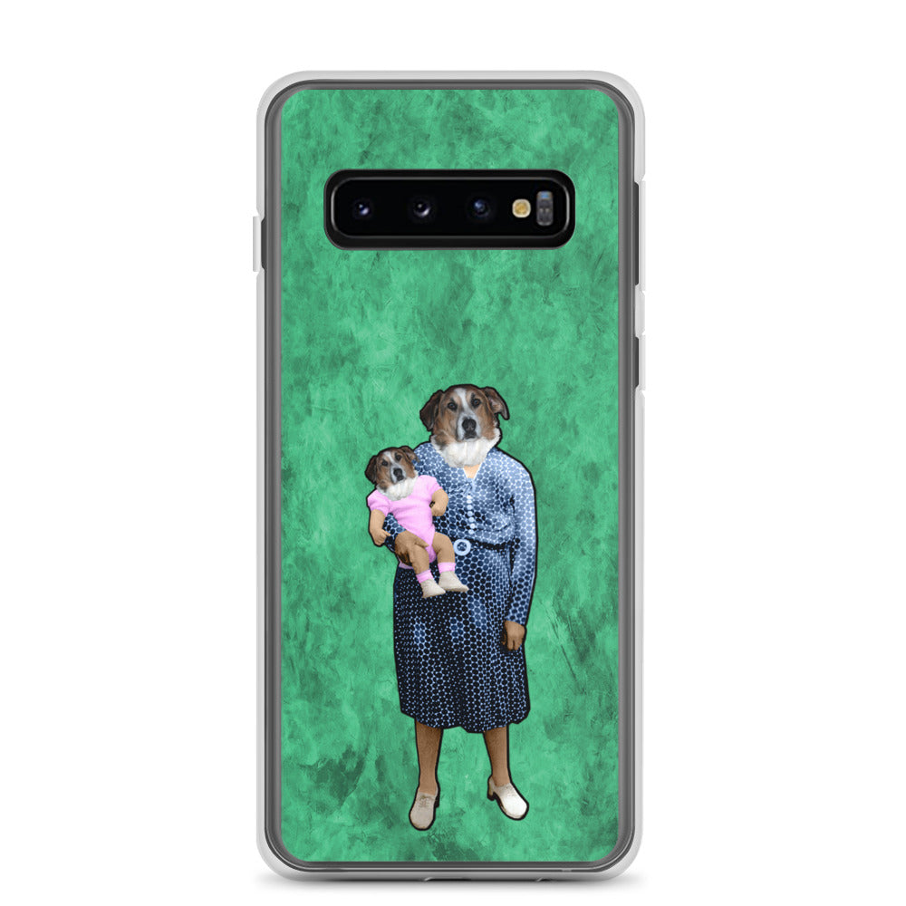 Samsung Case - Aunt Emily with Baby Barb