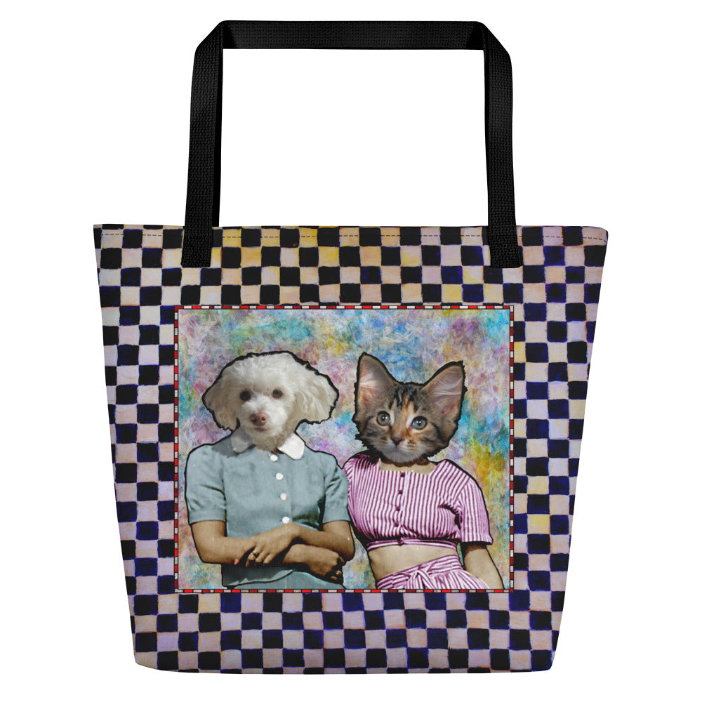 Tote Bag - Large - Two Sisters