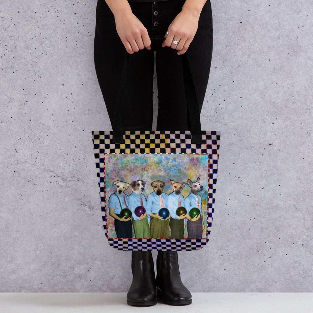Tote bag - Dad's Bowling Team