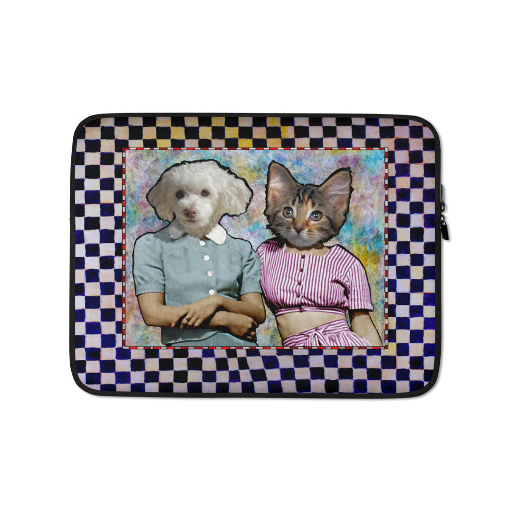Laptop Sleeve - Two Sisters