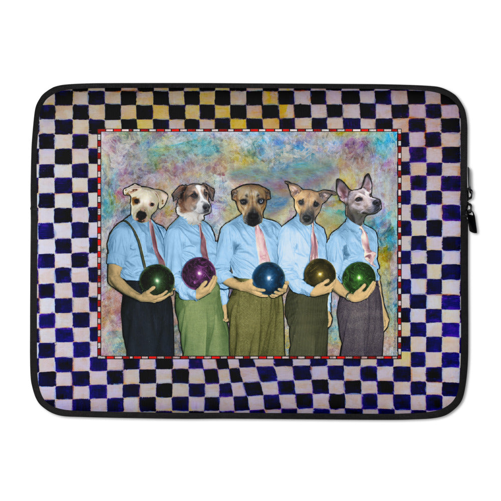 Laptop Sleeve - Dad's Bowling Team