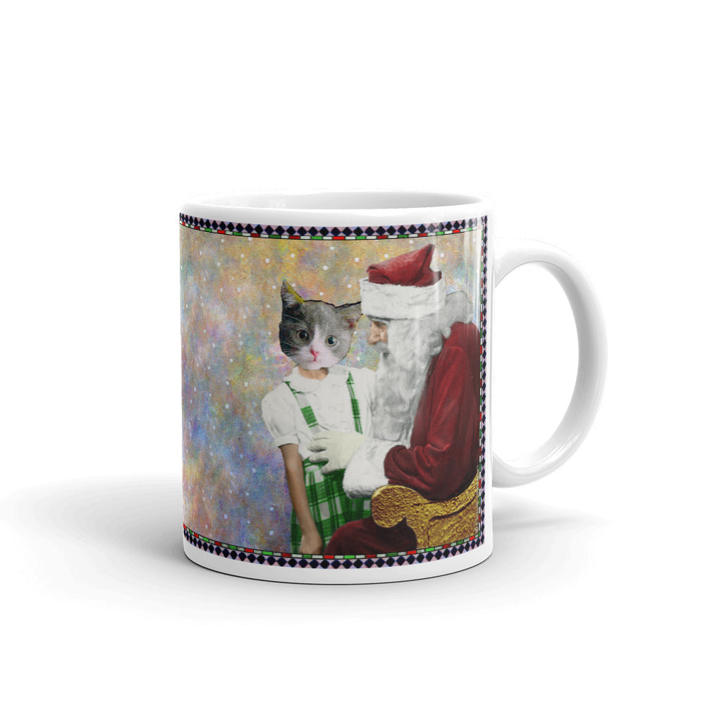 Mug - Santa and Barbara - Cat