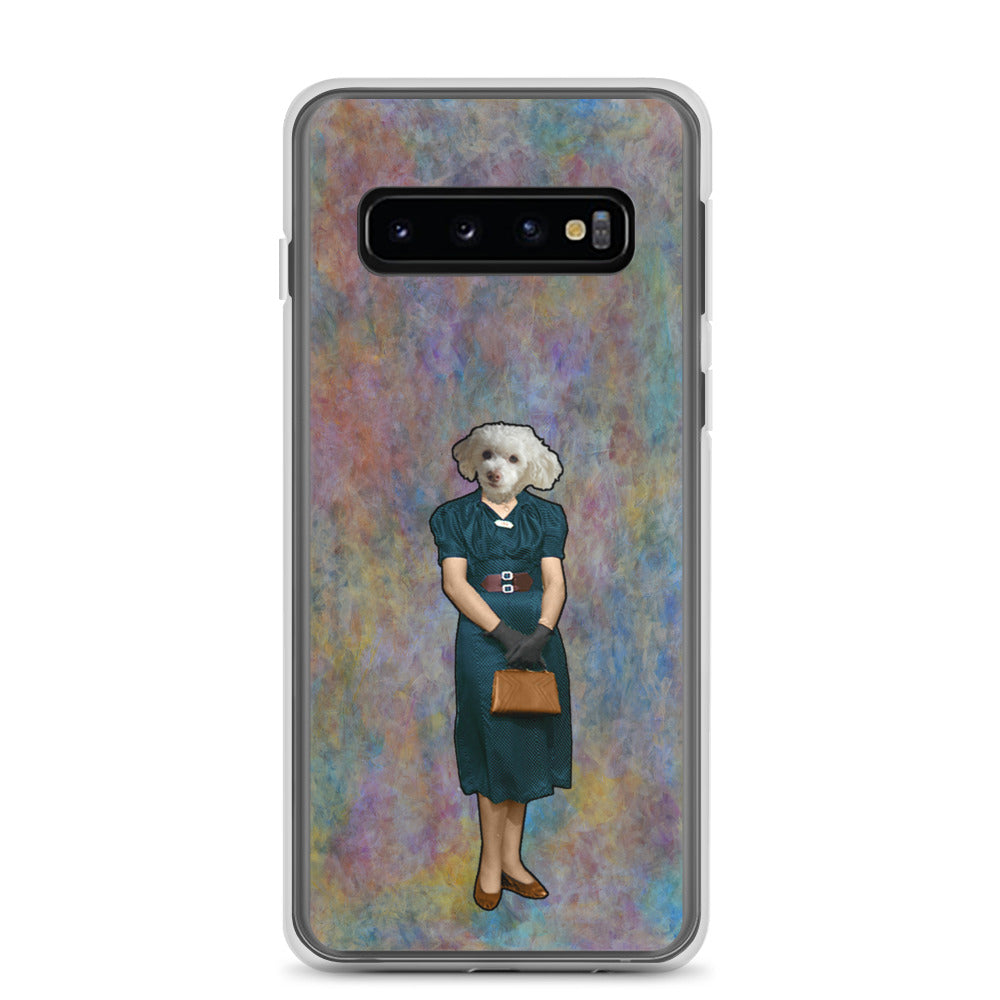 Samsung Case - Mom with Purse and Gloves