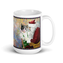 Load image into Gallery viewer, Mug - Santa and Barbara - Cat