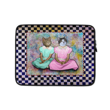 Load image into Gallery viewer, Laptop Sleeve - Barb and Mike Sitting