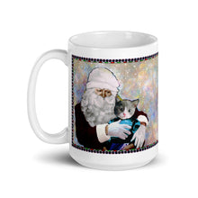 Load image into Gallery viewer, Mug - Santa and Michael - Cat