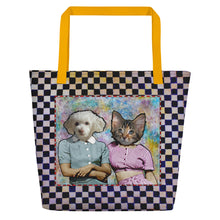 Load image into Gallery viewer, Tote Bag - Large - Two Sisters