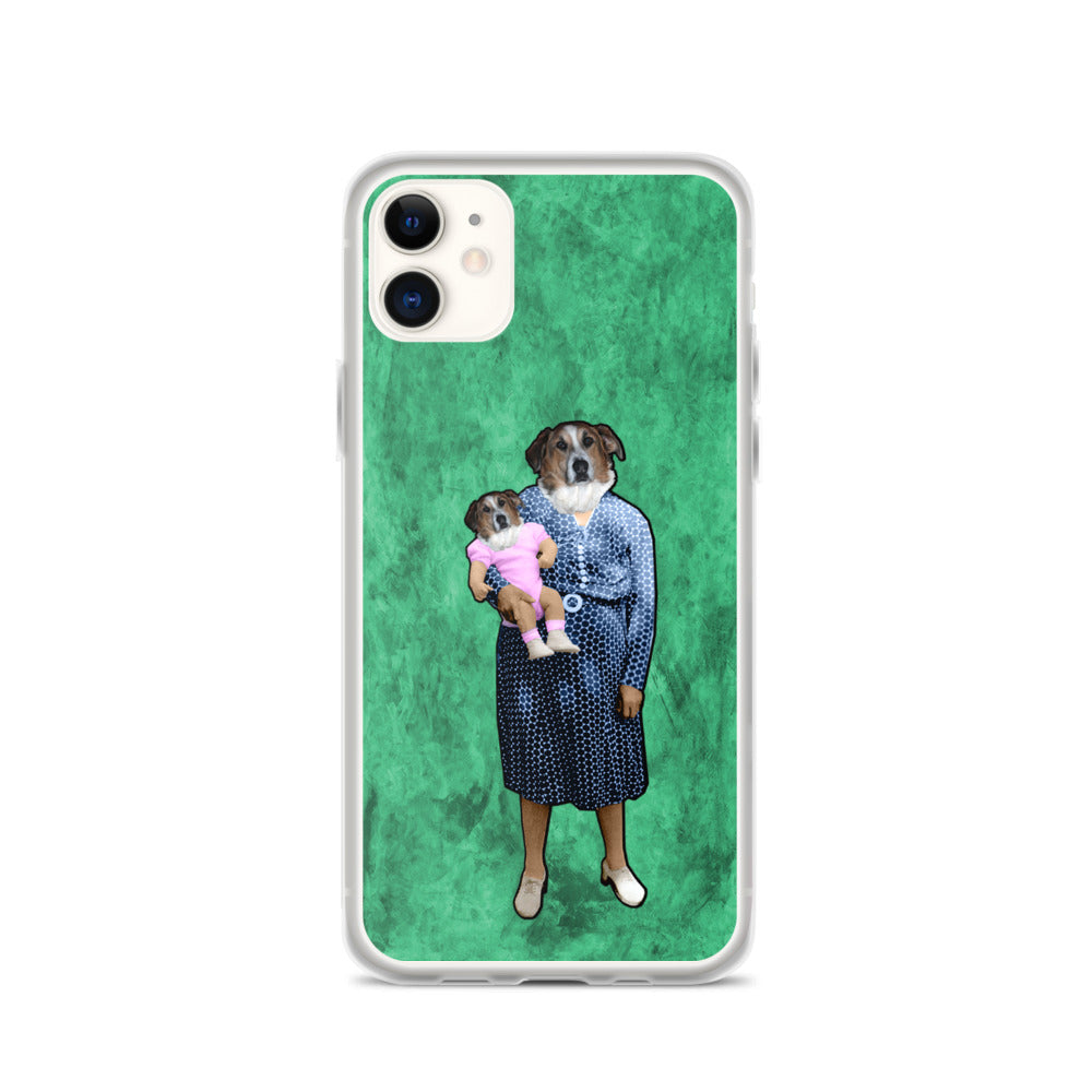 iPhone Case - Aunt Emily with Baby Barb