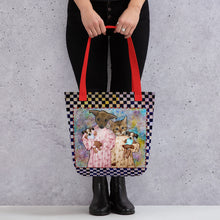Load image into Gallery viewer, Tote bag - Barb and Mike with Dolls