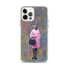 Load image into Gallery viewer, iPhone Case - Michaelene in Pink Coat