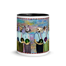 Load image into Gallery viewer, Mug with Color Inside - Dad's Bowling Team