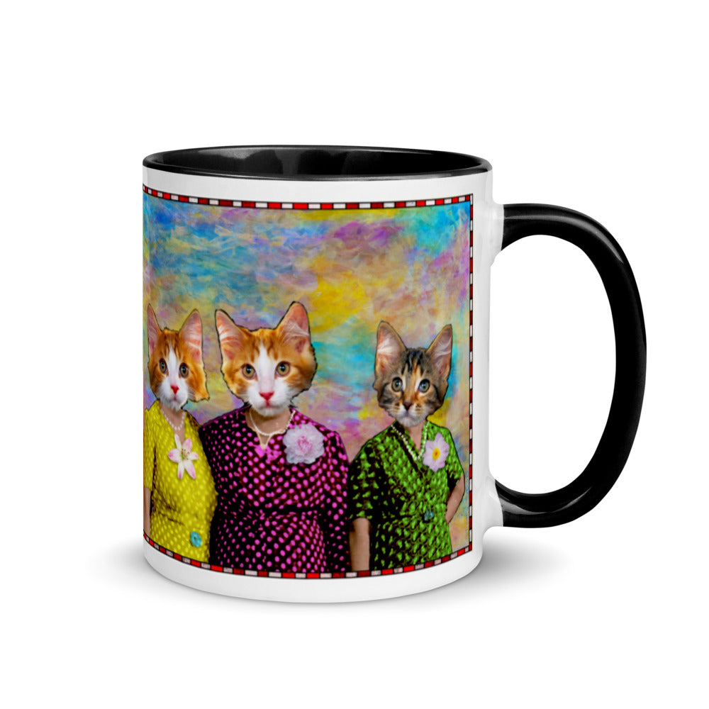 Mug with Color Inside - Three Aunts