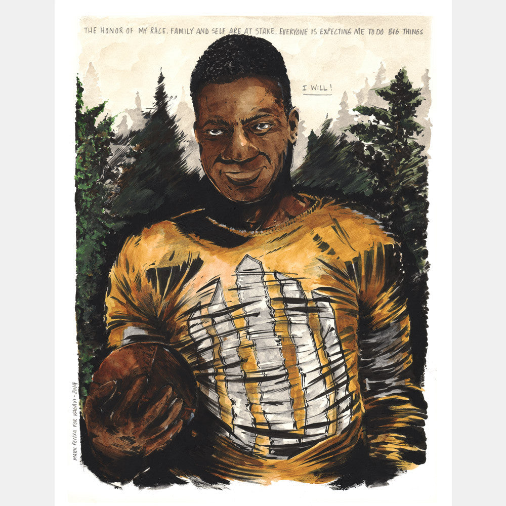 "Jack Trice ""I Will"" Giclee"