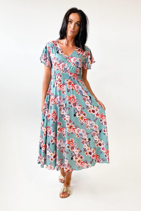 Boho Australia Isabella Midi Dress