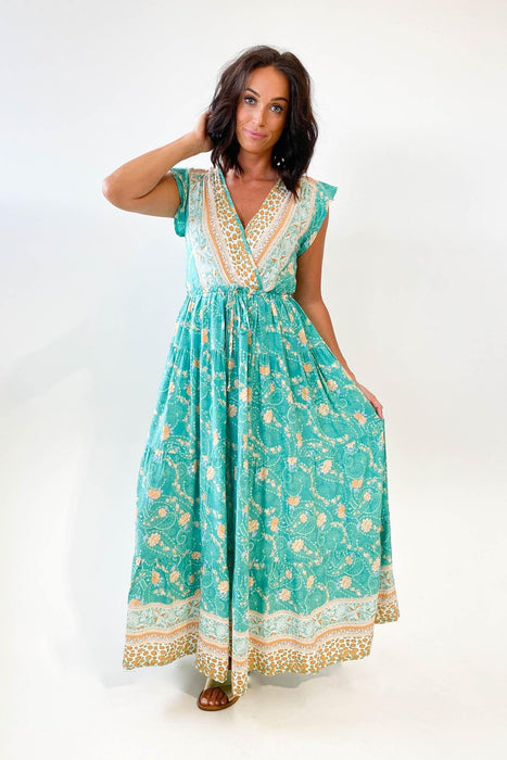 Boho Australia Taylina Wrap Dress