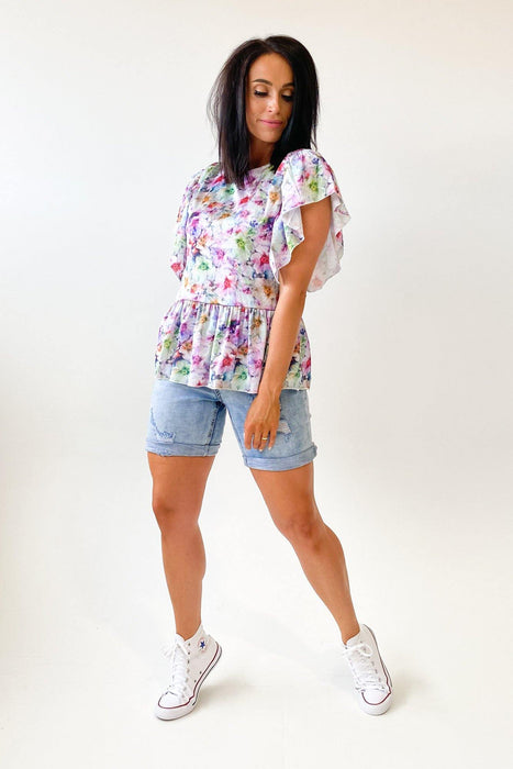 Federation Peace Top Floral