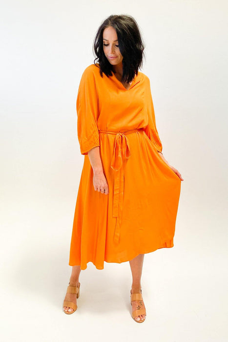 Fate Meet Me In St Louis Dress Tangerine