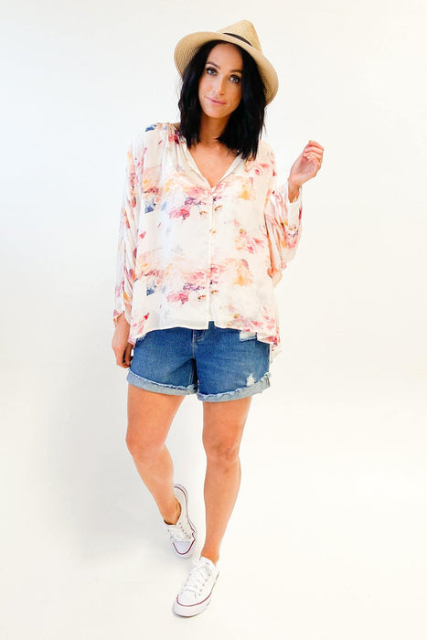 Fate Wuthering Heights Top Floral Print