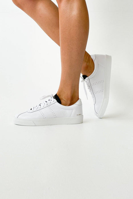 Superga 2843 Club S White Black