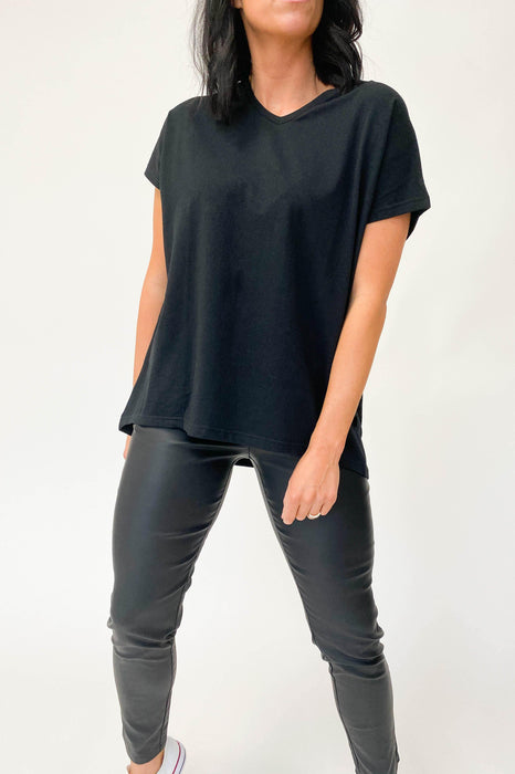 Silent Theory Slouch Tee Black