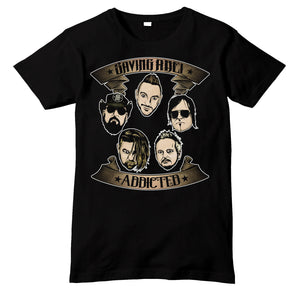 Saving Abel Band Members Cartoon Shirt