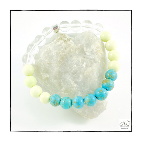 Intention Gemstone Bracelet - I AM STRESS-LESS