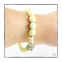 Load image into Gallery viewer, Intention Gemstone Bracelet - I AM HOPEFUL