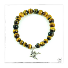 Load image into Gallery viewer, Intention Gemstone Bracelet - I AM COURAGEOUS