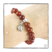 Load image into Gallery viewer, Intention Gemstone Bracelet - I AM VIBRANT