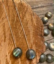 Load image into Gallery viewer, Labradorite Bead Pairs