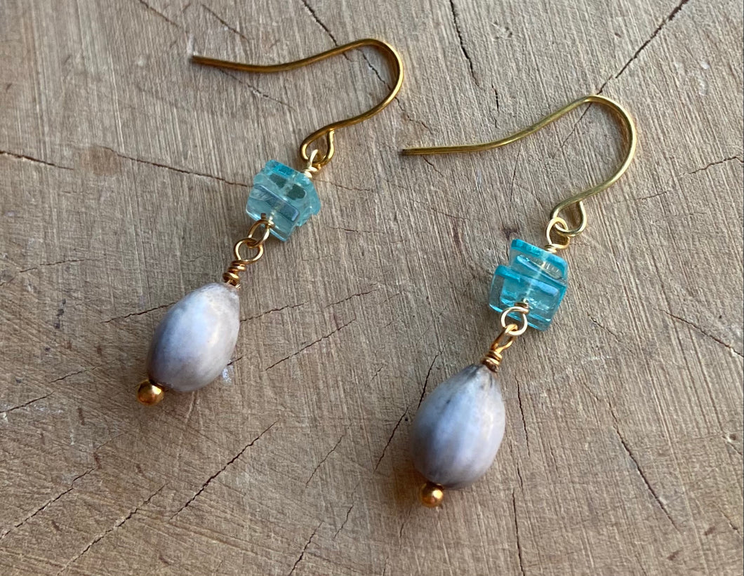 Apatite and Adley Earrings